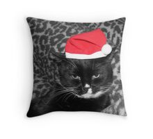 Donald The Tuxedo cat Throw Pillow