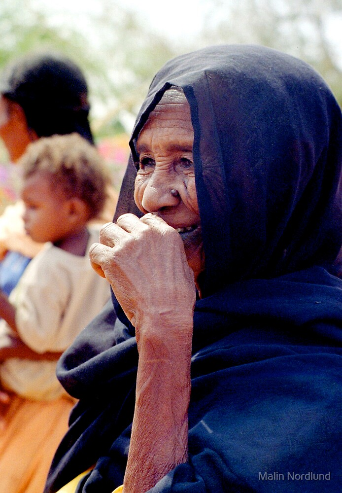 Sudanese Woman by Malin Nordlund