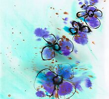Blueflower by Carol Wilson