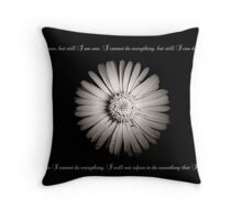 I AM ONE..  Throw Pillow