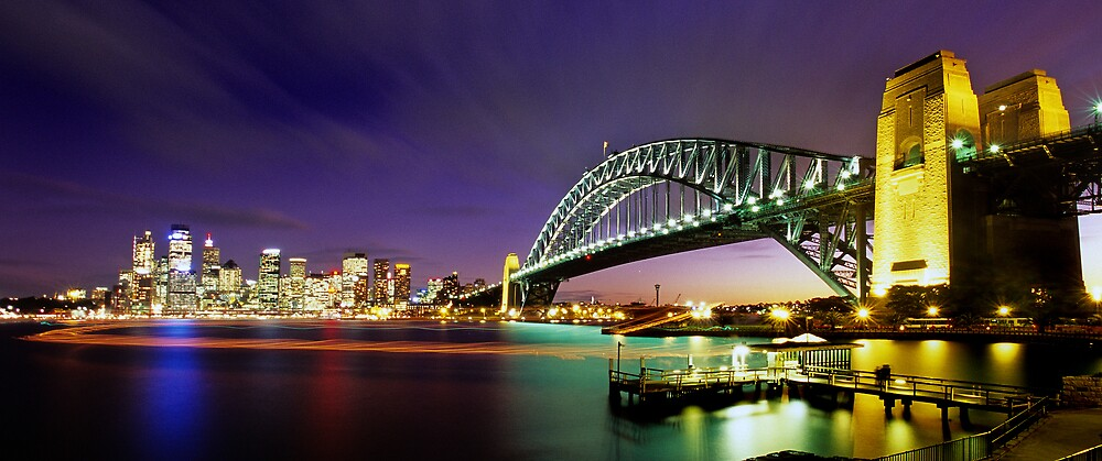 Magical Sydney Harbour by Alex Lau