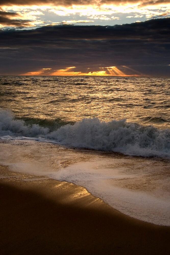 Sunset over Port Phillip Bay by John Barratt