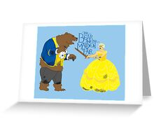 Brienne and the Bear Greeting Card