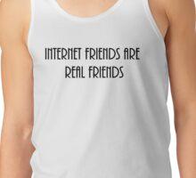 internet friends 4 Tank Top