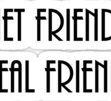 internet friends 4 Sticker