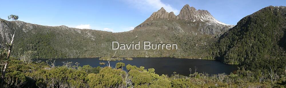 Cradle Mountain over Dove Lake by David Burren