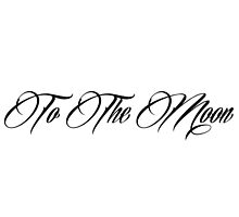 To The Moon-Black by Donna Graves