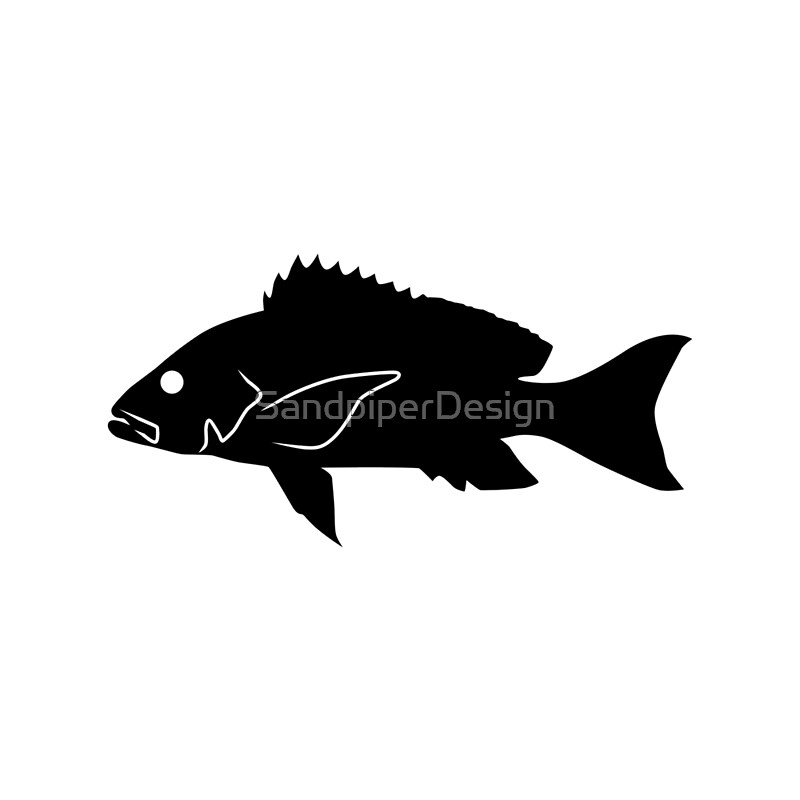 bass fish clip art silhoutte bass fishing