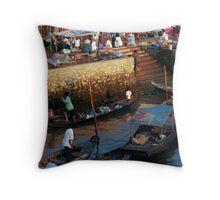 Mekong Delta cho Throw Pillow