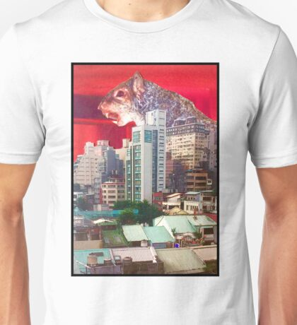 Giant Zombie Squirrel vs Taipei Unisex T-Shirt