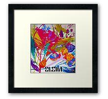 Season's colors Framed Print