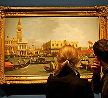Viewing the Canaletto by John Thurgood