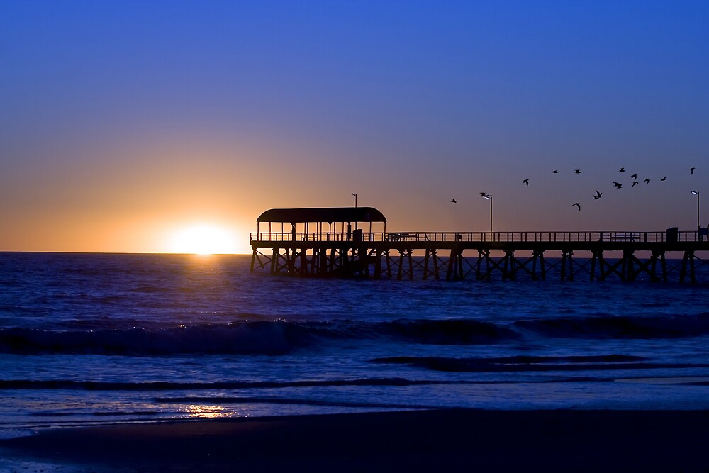 Henley Beach, South Australia by Peter Ede