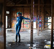 Project L: Hall of graffitis by photour