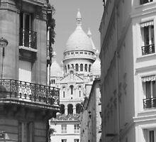 Sacre Couer - Paris by Jodi Webb