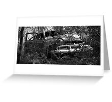 Wreck Greeting Card