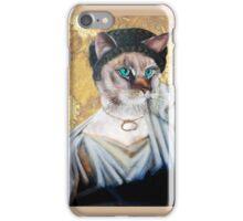 Greek Lady Cat iPhone Case/Skin