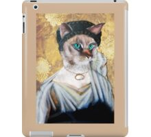 Greek Lady Cat iPad Case/Skin