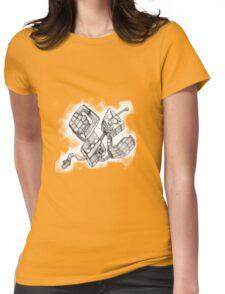 Retro Killer Robot Womens Fitted T-Shirt