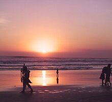 Bali Sunset by Rohan