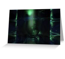 The Green Dungeon Greeting Card
