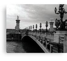 Pont Alexander - Paris Canvas Print
