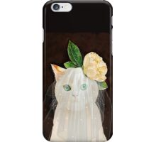 The Bride Cat Art iPhone Case/Skin