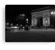Solitude - Paris Canvas Print