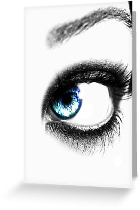 blue eye by Imogene Munday