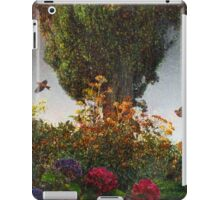 lombardy cypress in tuscany iPad Case/Skin