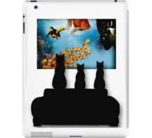 Charming Cats Watching Aquarium iPad Case/Skin