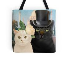 Charming Cats Wedding  Tote Bag