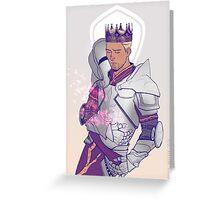 King Alistair Greeting Card