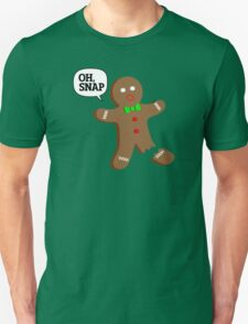Oh, Snap Gingerbread Man, Funny Christmas Gift T-Shirt