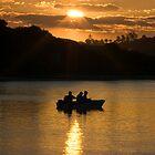 Sunset Fishing by Bradley Ede