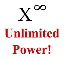 Unlimited Power! Photographic Print