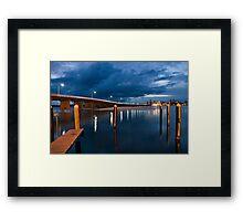 Forster/Tuncurry Bridge Framed Print