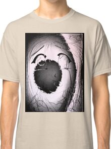 Anime in Sumi-e with adjusted lighting. Classic T-Shirt