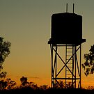 Outback Water Tank,N.T. by Joe Mortelliti