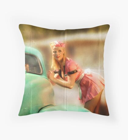 Can I Take Your Order Throw Pillow