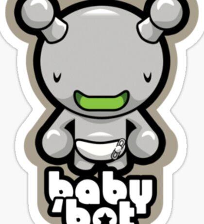 baby 'bot Sticker