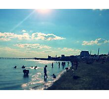 Southend-on-Sea Beach Photographic Print