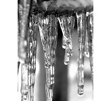 Winter's Icey Jaws Photographic Print