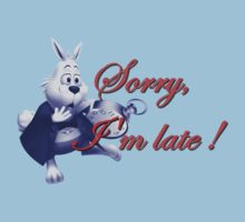 Sorry, I'm Late ! Alice in Wonderland's Rabbit by River-Pond
