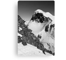 Snow capped Canvas Print