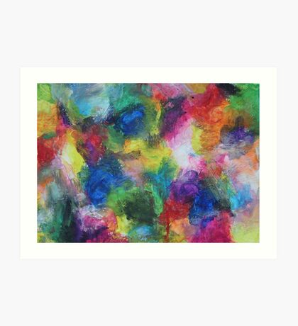"""In a Dream"" original abstract artwork by Laura Tozer Art Print"