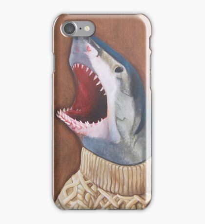 Shark in a Sweater iPhone Case/Skin