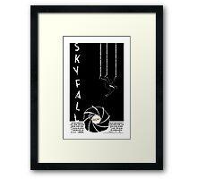 Skyfall 007 Framed Print