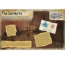 Practical Visitor's Guide to the Labyrinth - The Outskirts Photographic Print