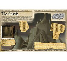 Practical Visitor's Guide to the Labyrinth - The Castle Photographic Print